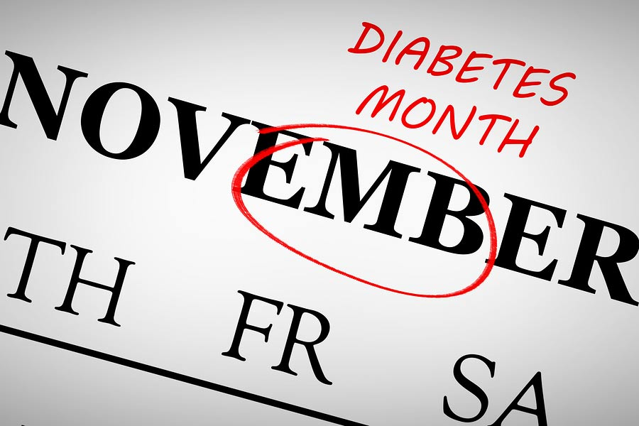 National Diabetes Month is in November